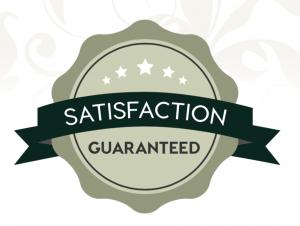 badge satisfaction guaranteed