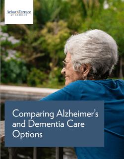 Cascade Dementia Care Guide Cover