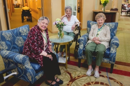 assisted senior living friendly design