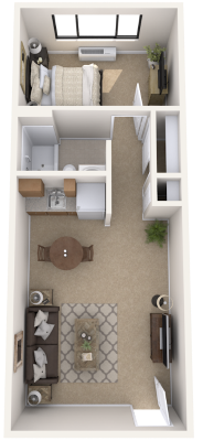 new-jersey-senior-living-one-bedroom-apartment