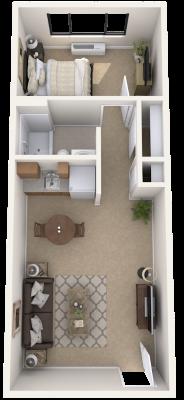 new-jersey-senior-living-one-bedroom-apartment