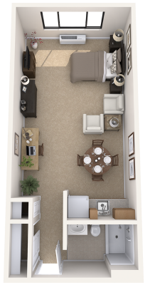 new-jersey-senior-living-studio-apartment