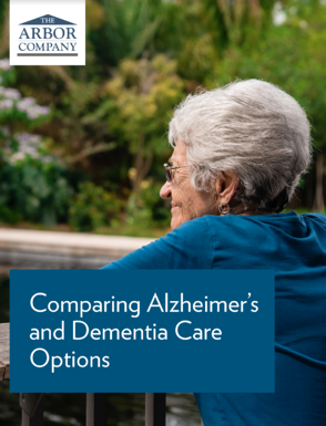 Comparing Dementia Care Options Cover