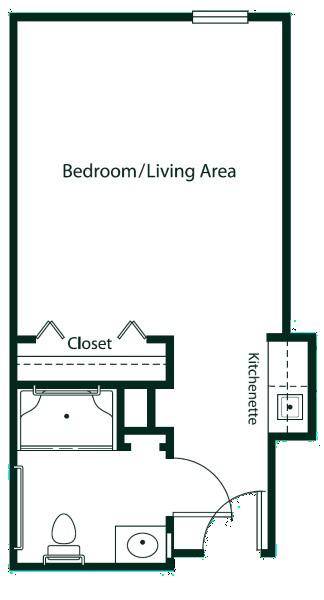arbor-terrace-of-decatur-one-room-suite