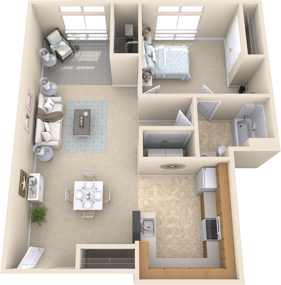 Stuart Woods Apartments: Premier Senior Living Apartments In Herndon, VA