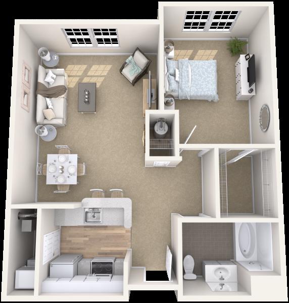 arbor-terrace-teaneck-one-bedroom-sample-b