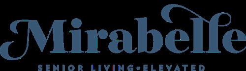 Mirabelle Dadeland Logo Blue - Cropped