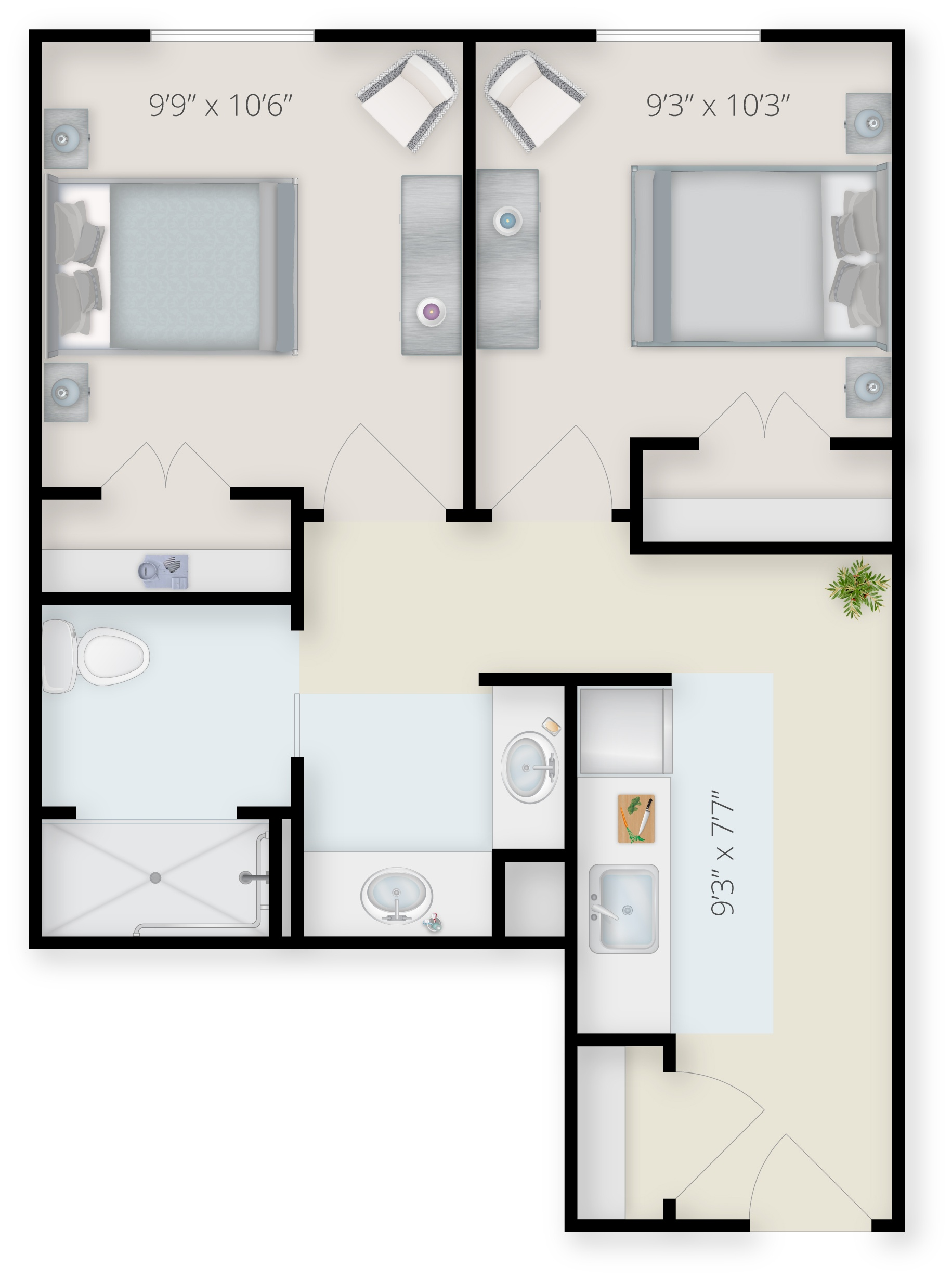 ATR_MC_TheMercer_2Bedroom_2b1b_519_staged