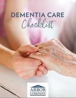 Dementia Care Checklist Cover