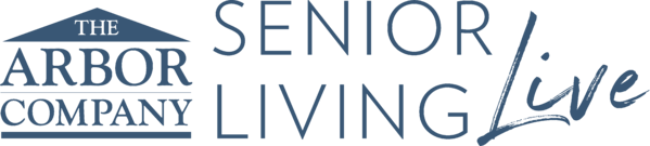 Senior Living Live Graphic Blue