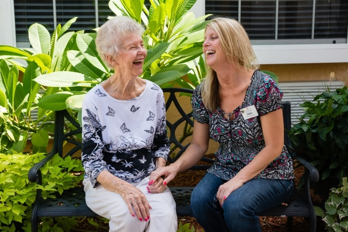 Our staff is available for our residents 24/7.