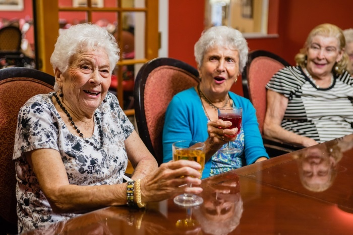 At Arbor Terrace, our residents are always enjoying time together.