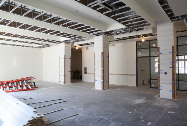 Construction Update as of 9-21-18