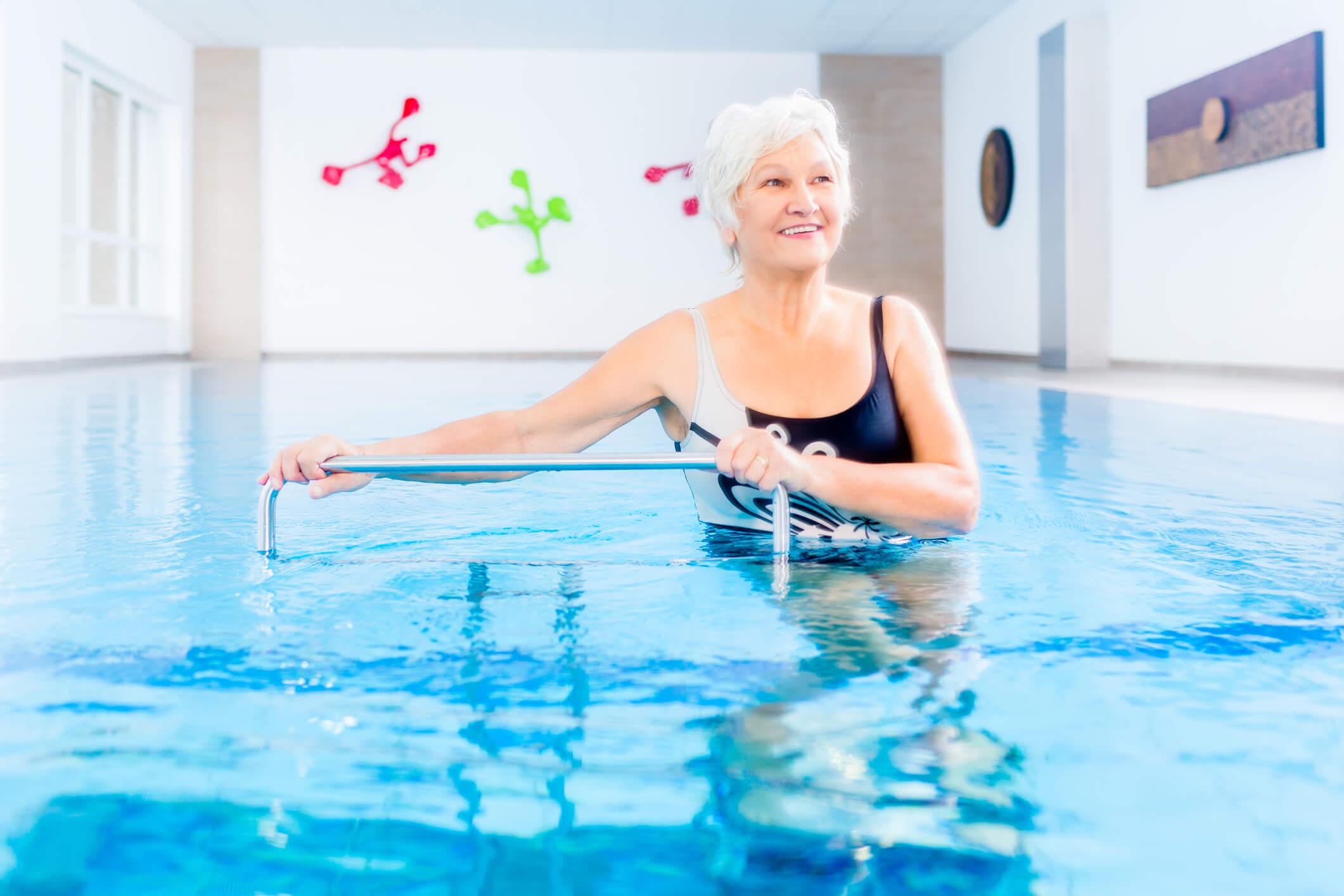 Seniors: Benefits of Aquatic Therapy