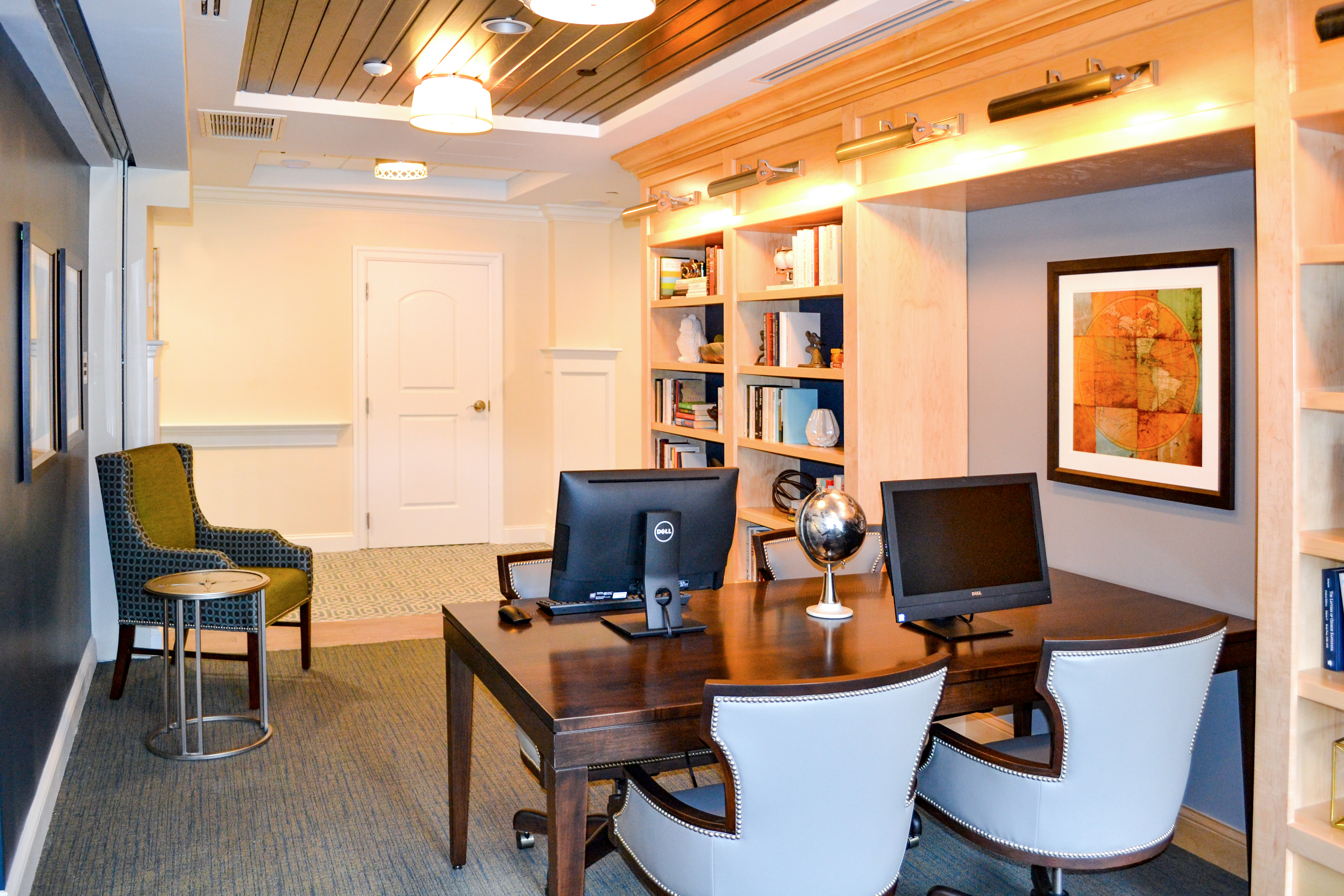 office area mountainside