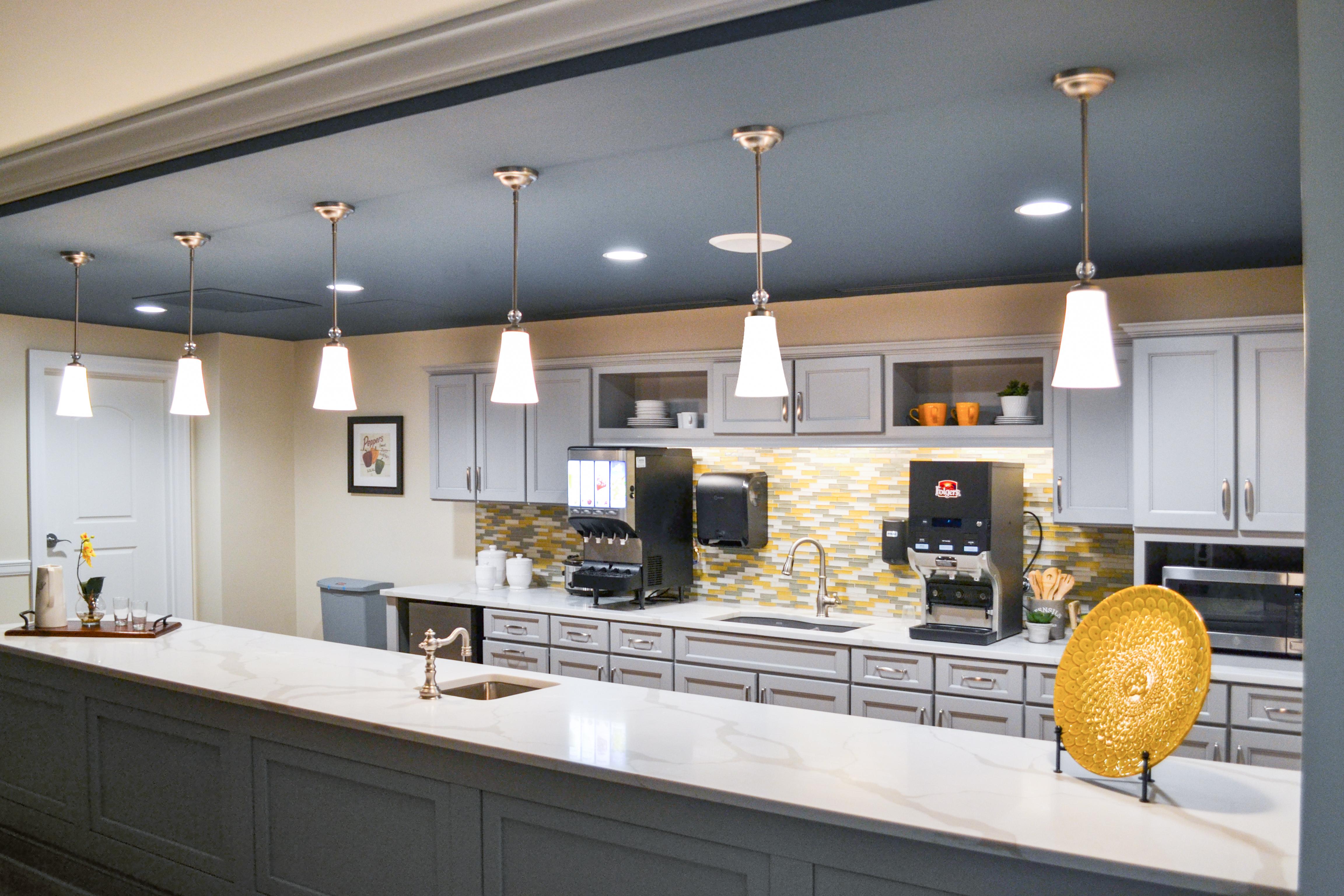 kitchen area mountainside