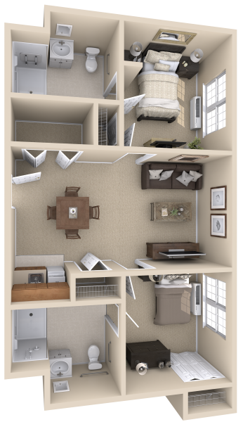 arbor-terrace-senior-living-two-bedroom