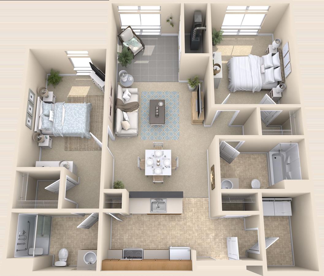 Arbor Ridge Apartments: Premier Senior Living Apartments In Herndon, VA