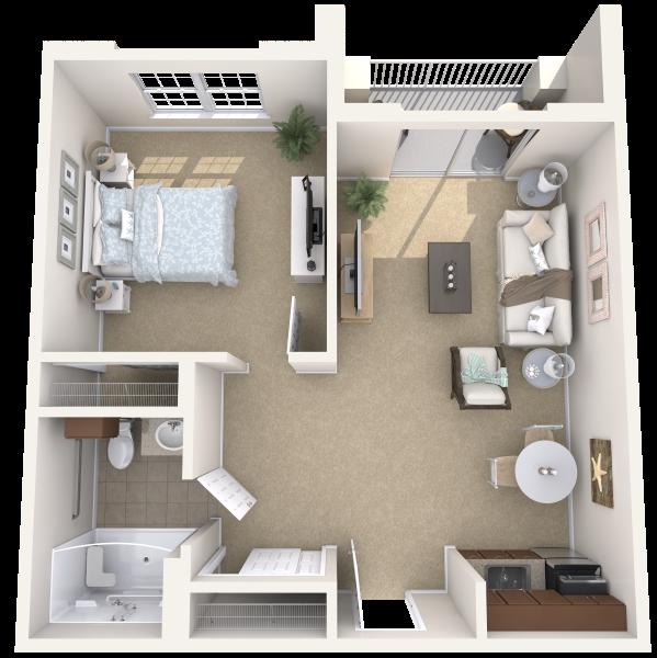 Dogwood Creek Apartments: Independent Senior Living In Kingwood, Texas