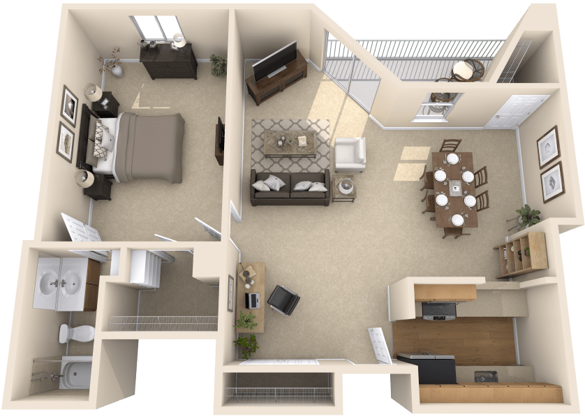Peachtree Square Apartments Floor Plans: Independent Senior Living And Assisted Living In Atlanta, GA