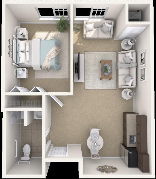 arbor-terrace-shrewsbury-one-bedroom