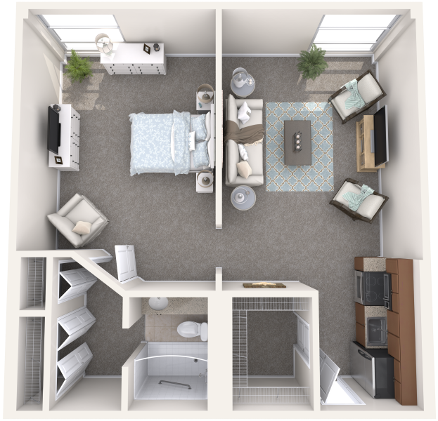 the-summit-of-uptown-park-ridge-independent-living-one-bedroom
