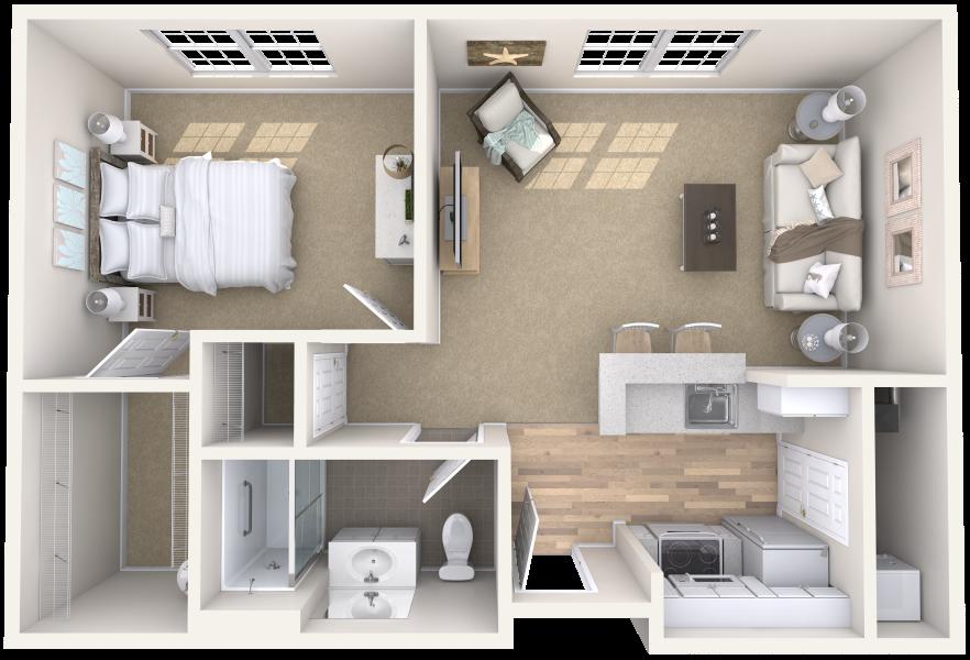 arbor-terrace-teaneck-one-bedroom-sample-a