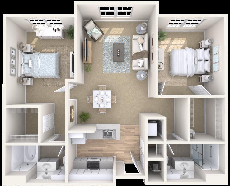 arbor-terrace-teaneck-two-bedroom-sample-b
