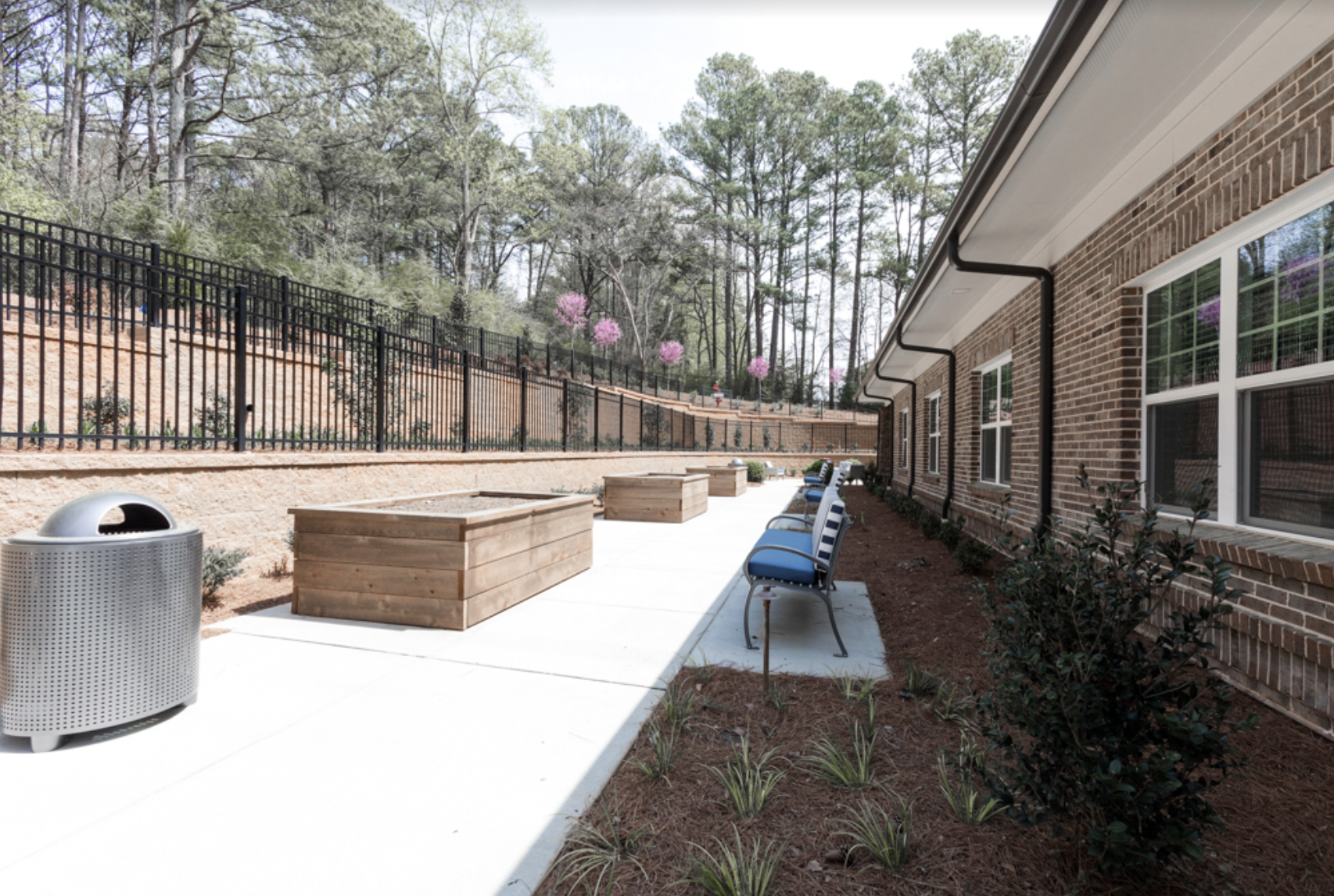 outdoor spaces at burnt hickory