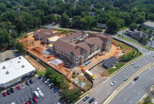 Solona East Cobb Construction August 2018 1
