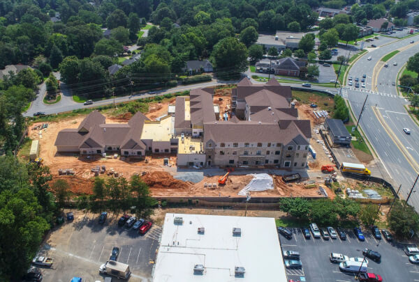 Solona East Cobb Construction August 2018 4