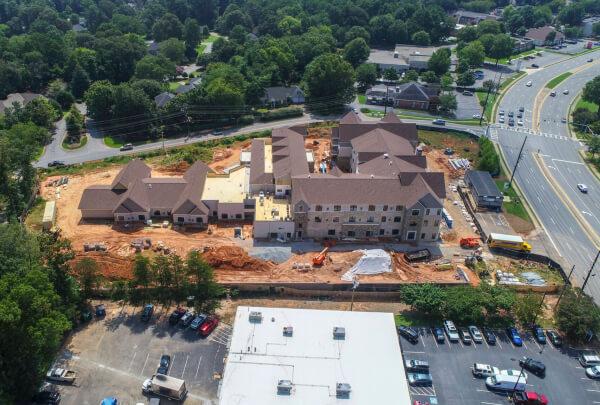 Solona East Cobb Construction August 2018 4