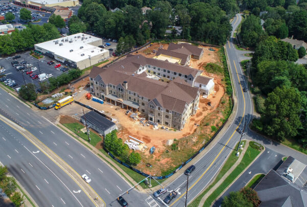 Solona East Cobb Construction August 2018 6