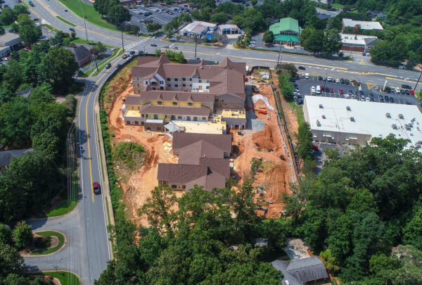 Solona East Cobb Construction August 2018 7
