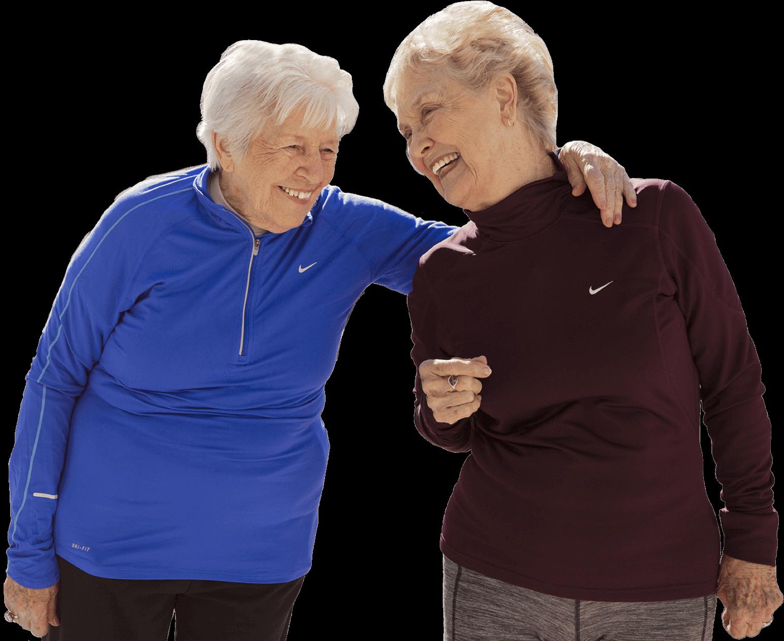 arbor residents exercising